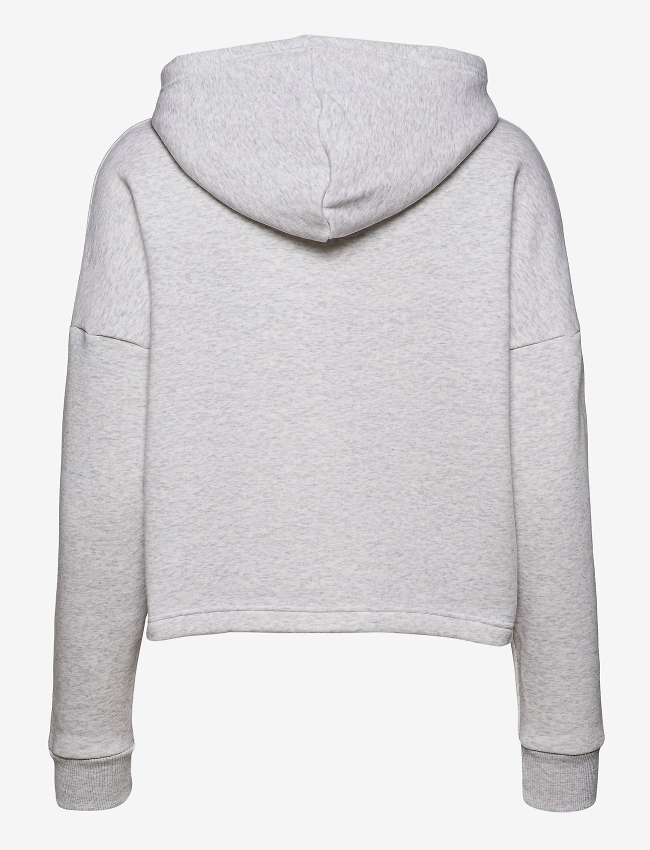Tommy Sport - CROPPED HOODY FLAG LOGO - hoodies - ice heather - 1