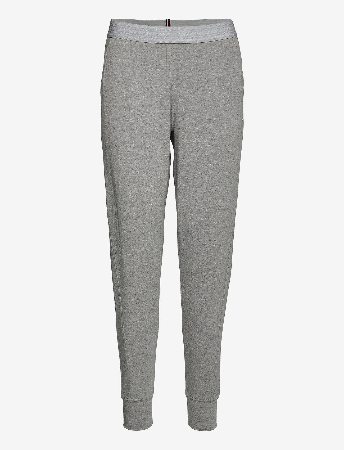 Tommy Sport - SLIM SOFT MODAL PANT - pants - light grey heather - 0