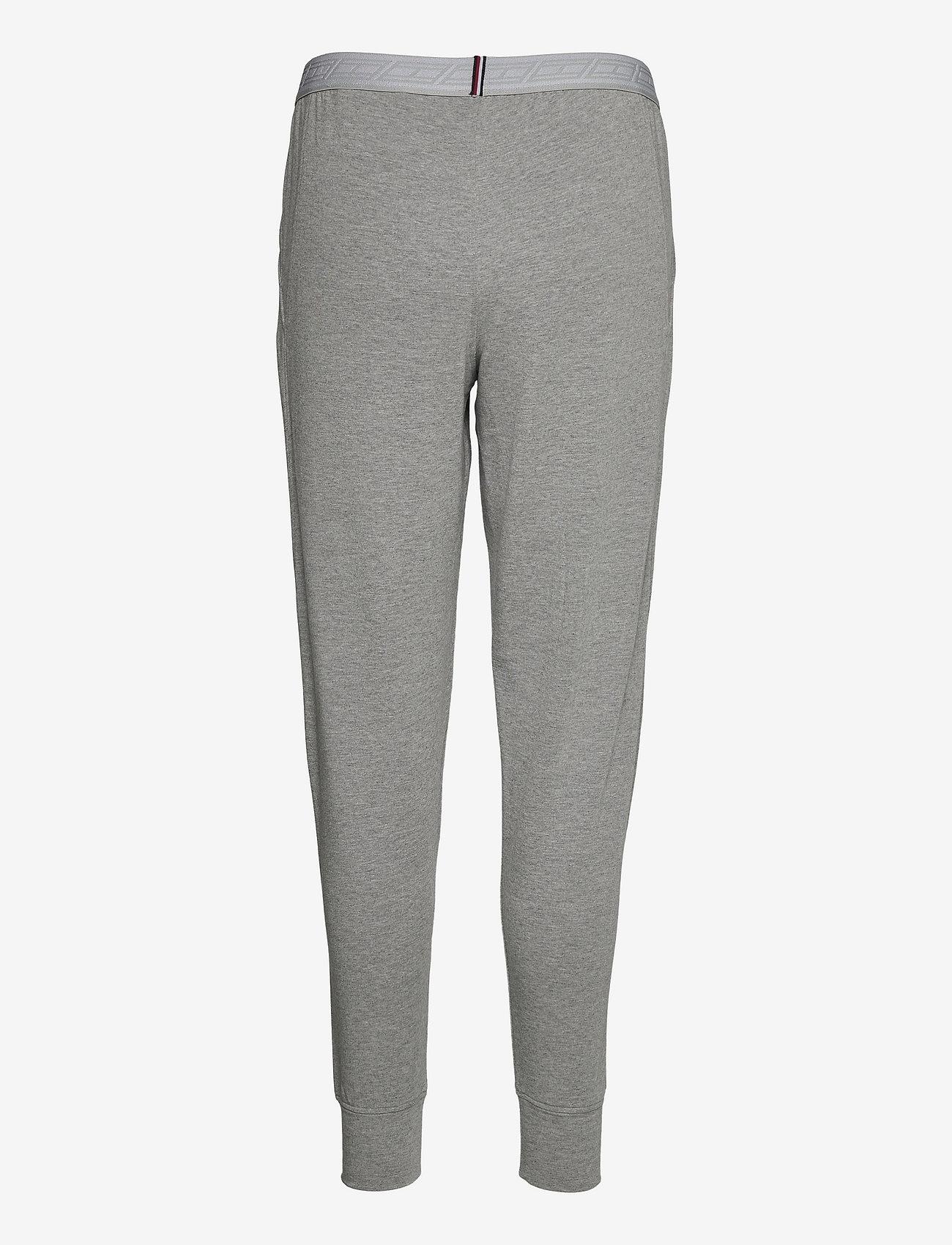 Tommy Sport - SLIM SOFT MODAL PANT - pants - light grey heather - 1