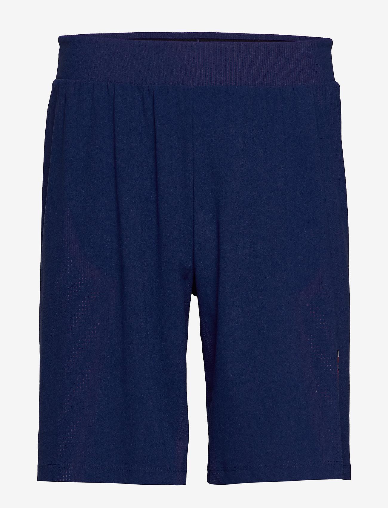 Tommy Sport - WARPKNIT SHORT - training shorts - blue ink - 0