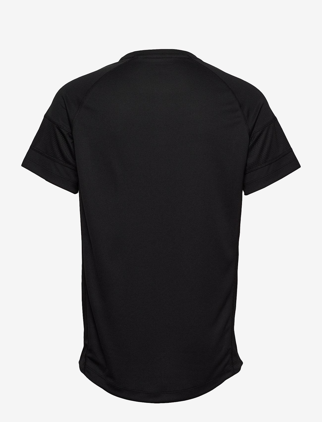 Tommy Sport - PERFORMANCE MESH TEE - t-shirts - pvh black - 1