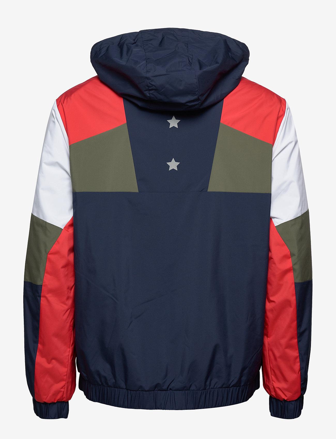 Tommy Sport - BLOCK FULL ZIP JACKET - training jackets - sport navy - 1