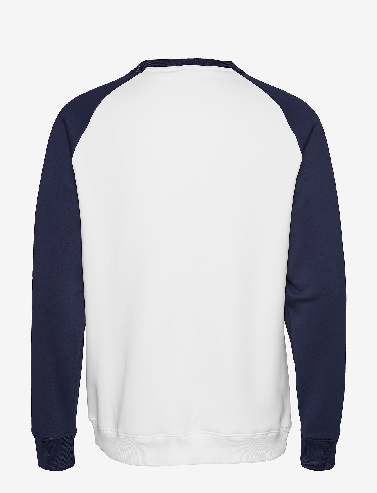 Tommy Sport - FLEECE TAPE CREW - langaermede-toppe - pvh white - 1