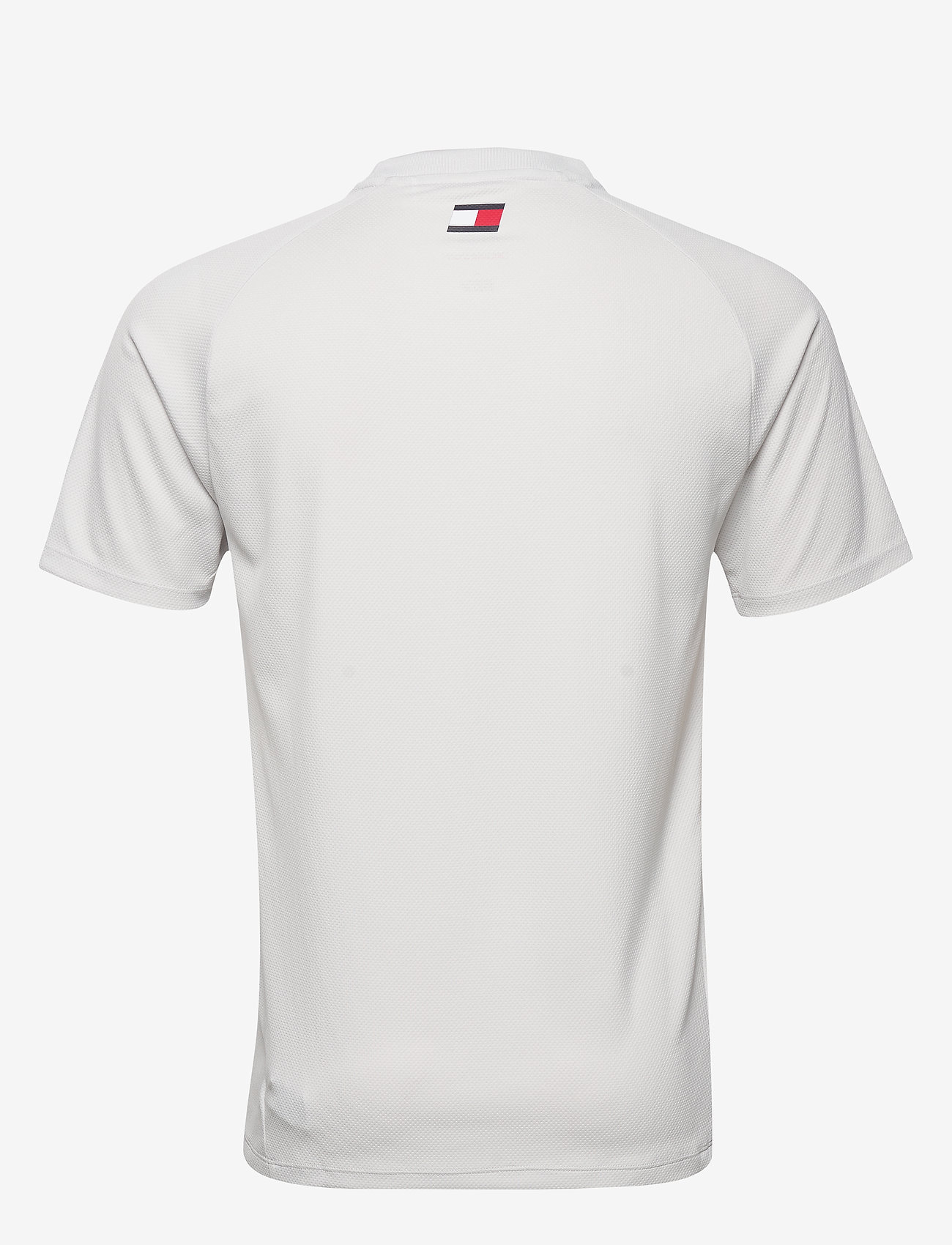 Tommy Sport - TRAINING TOP MESH LOGO - t-shirts - light cast - 1