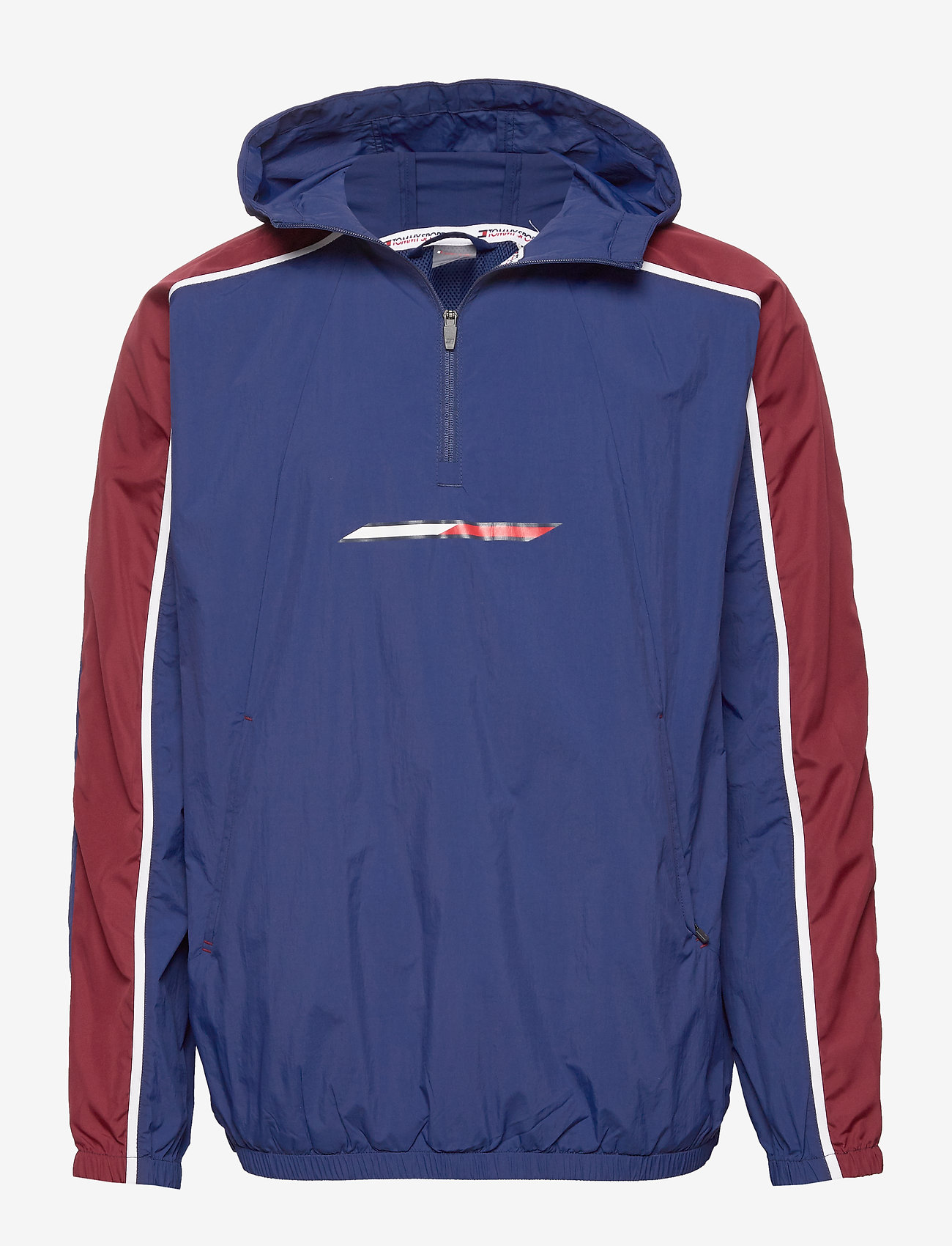 Tommy Sport - 1/2 ZIP WINDBREAKER - anoraks - blue ink - 0