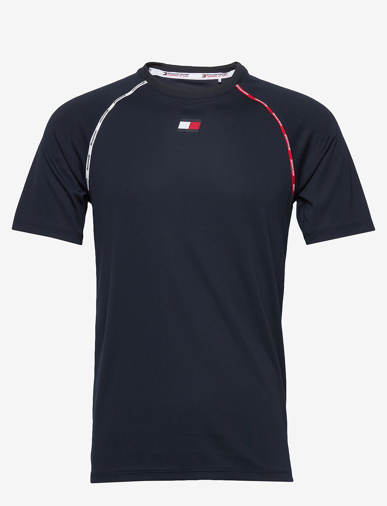 Tommy Sport - PIPING TRAINING TOP - t-shirts - desert sky - 0