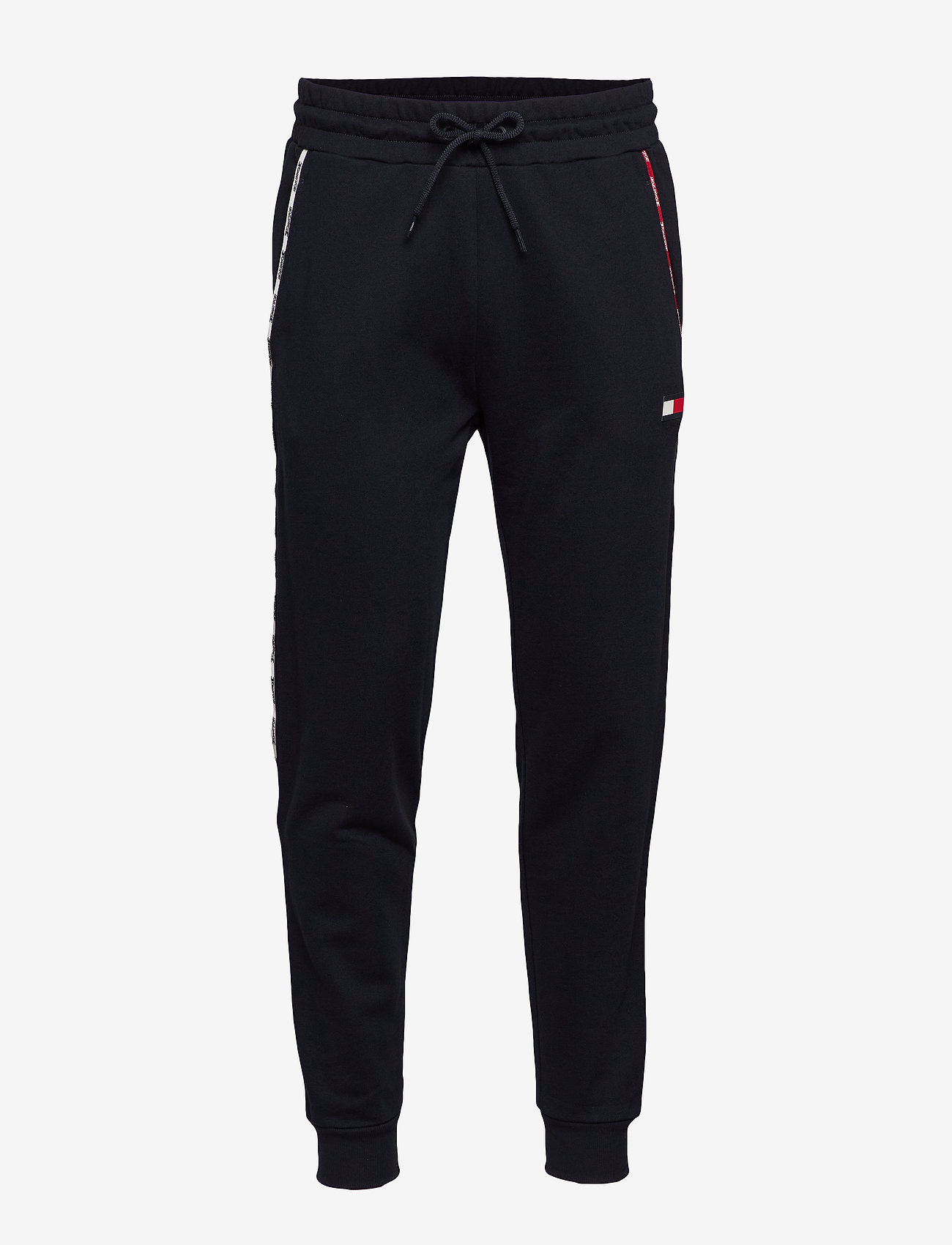 Tommy Sport - PIPING FLEECE CUFFED PANT - pants - desert sky - 0