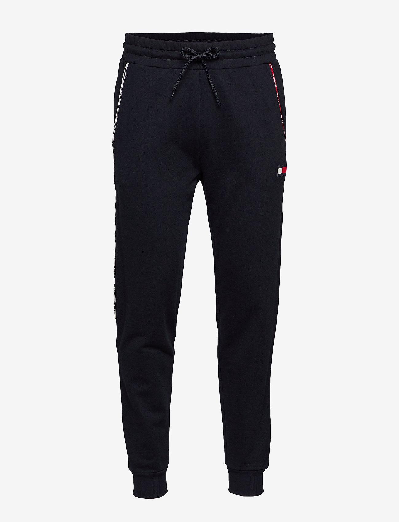 Tommy Sport - PIPING FLEECE CUFFED PANT - sweatpants - desert sky - 0