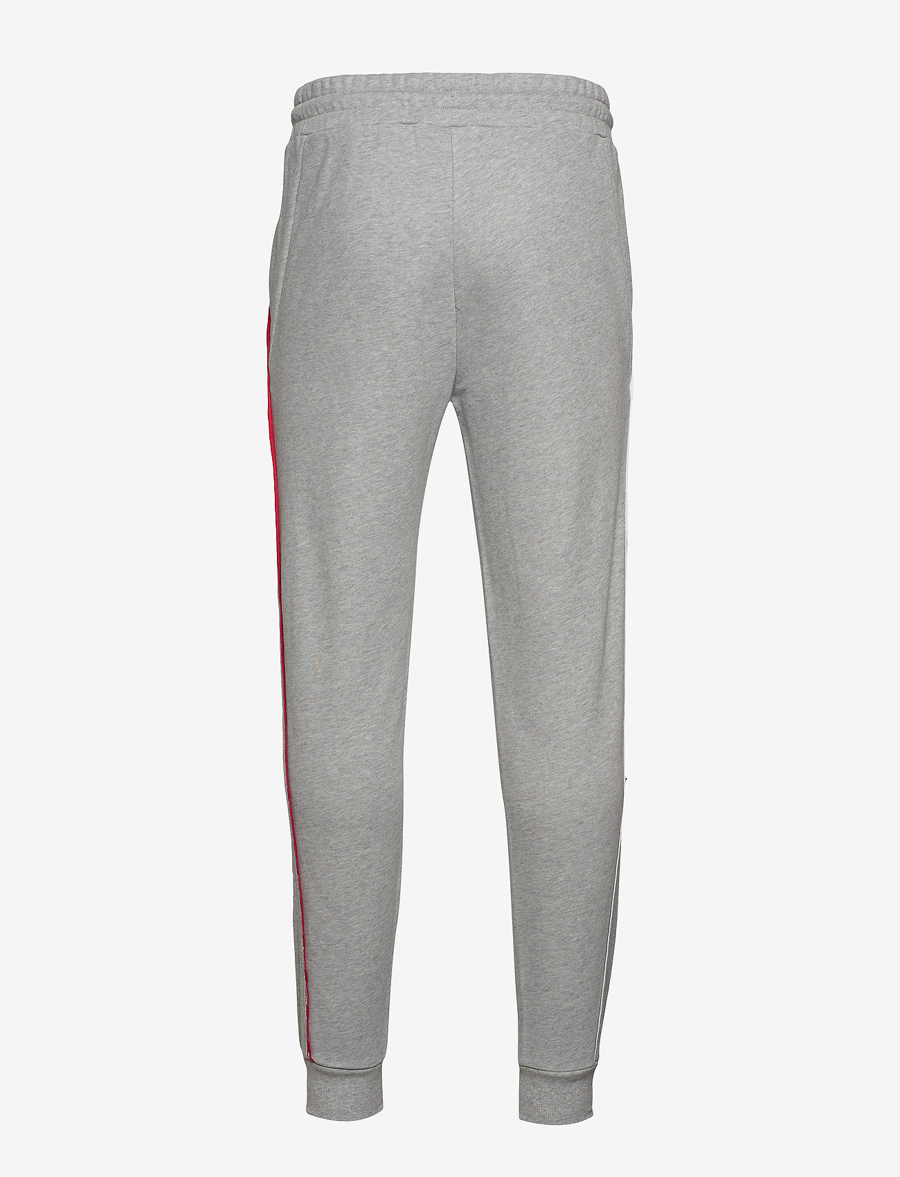 Tommy Sport - PIPING FLEECE CUFFED PANT - pants - grey heather - 1