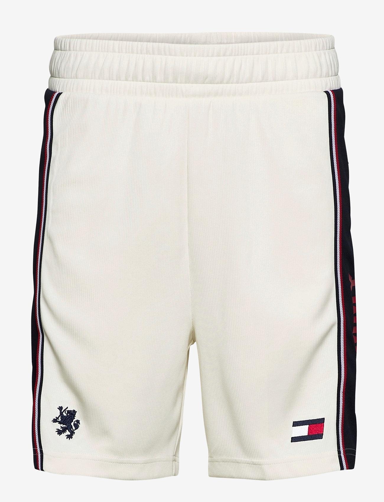 """Tommy Sport - BLOCKED ICONIC SHORT 9"""" - training shorts - ivory - 0"""