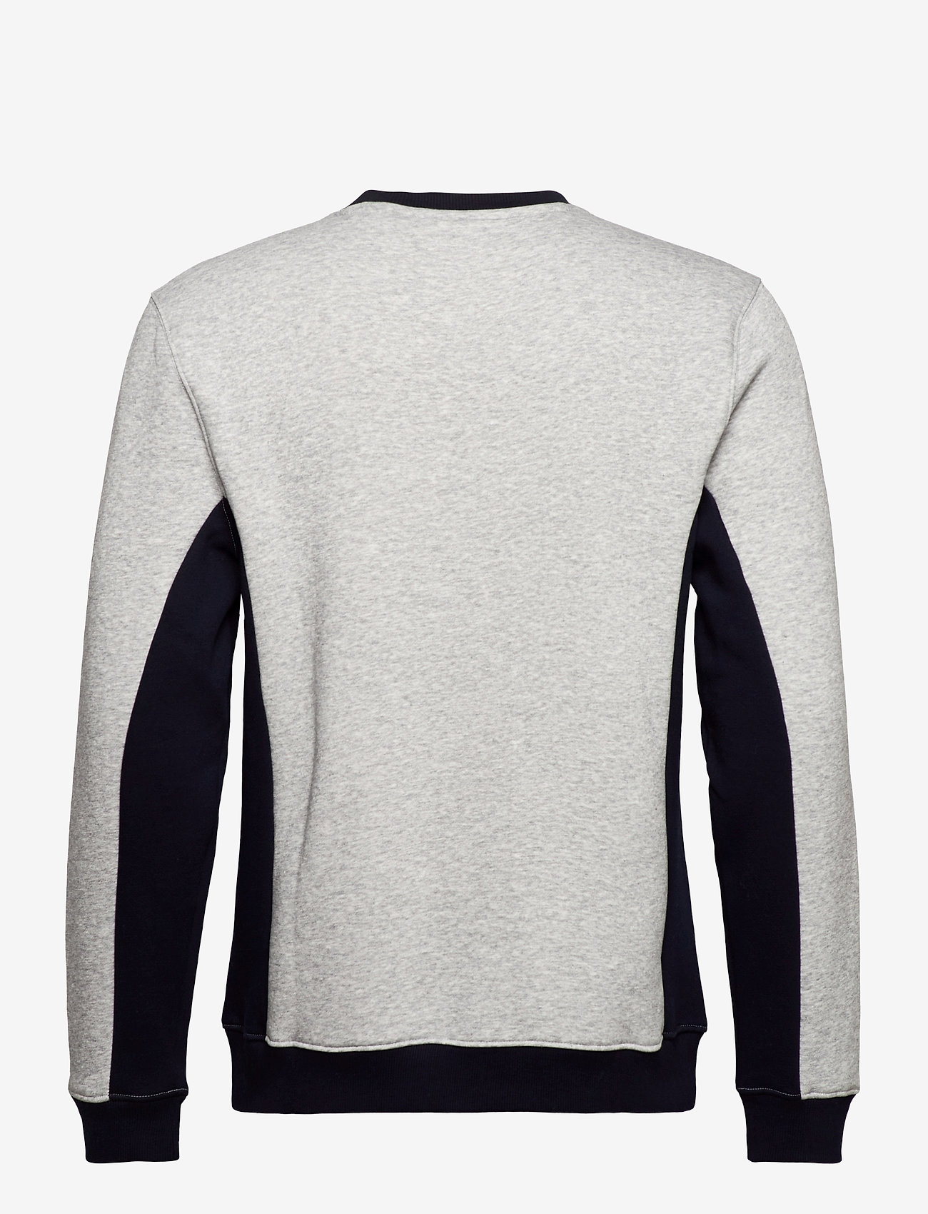 Tommy Sport - BLOCKED FLEECE CREW - longsleeved tops - grey heather - 1