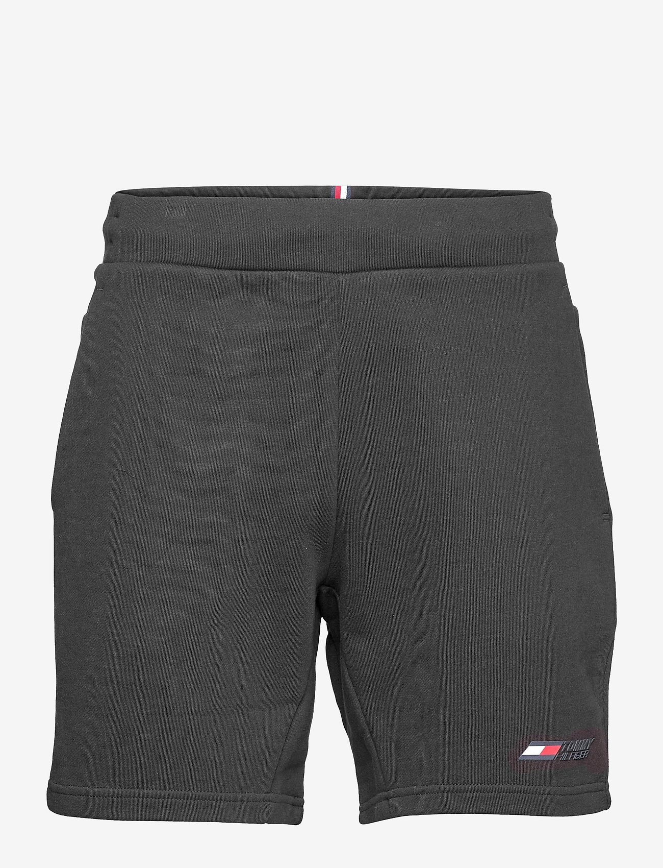 Tommy Sport - TERRY LOGO SHORT - casual shorts - black - 0