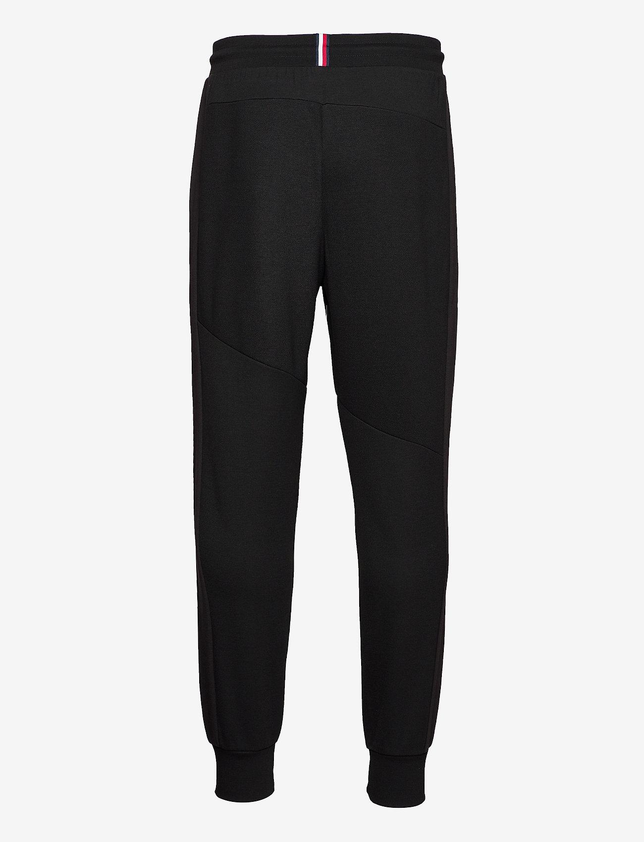 Tommy Sport - BLOCKED TERRY PANT - sweatpants - black - 1
