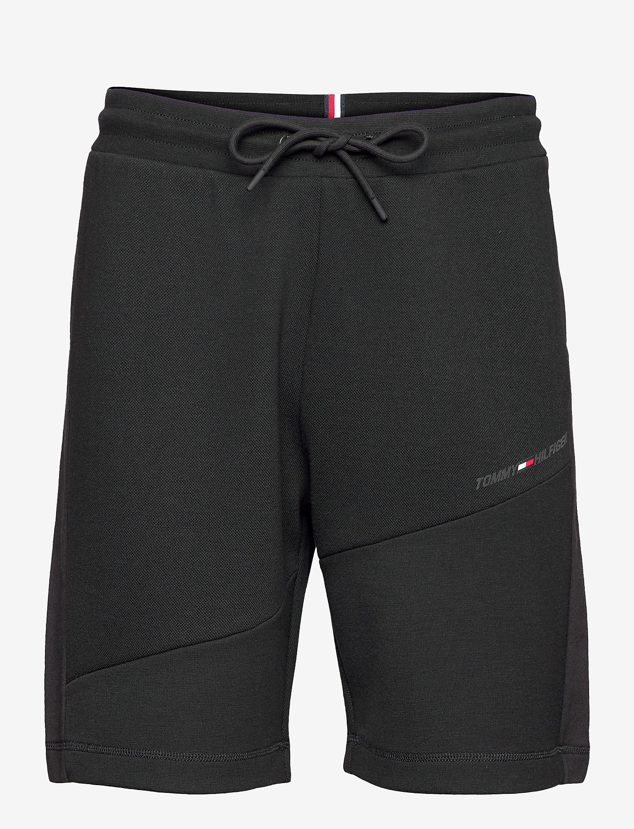 Tommy Sport - BLOCKED TERRY SHORT - casual shorts - black - 0