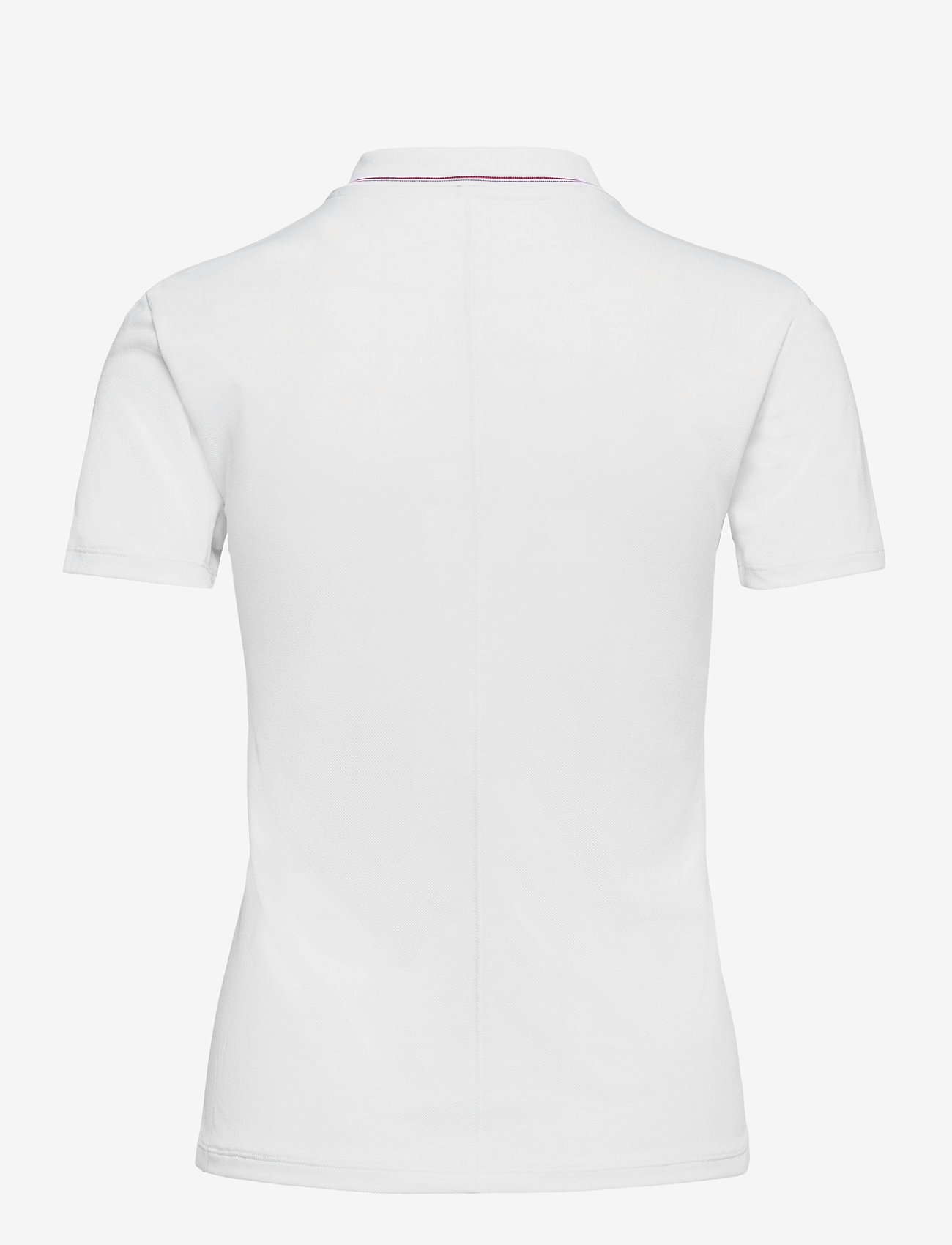Tommy Sport - SLIM LBR POLO SS - polo's - th optic white - 1