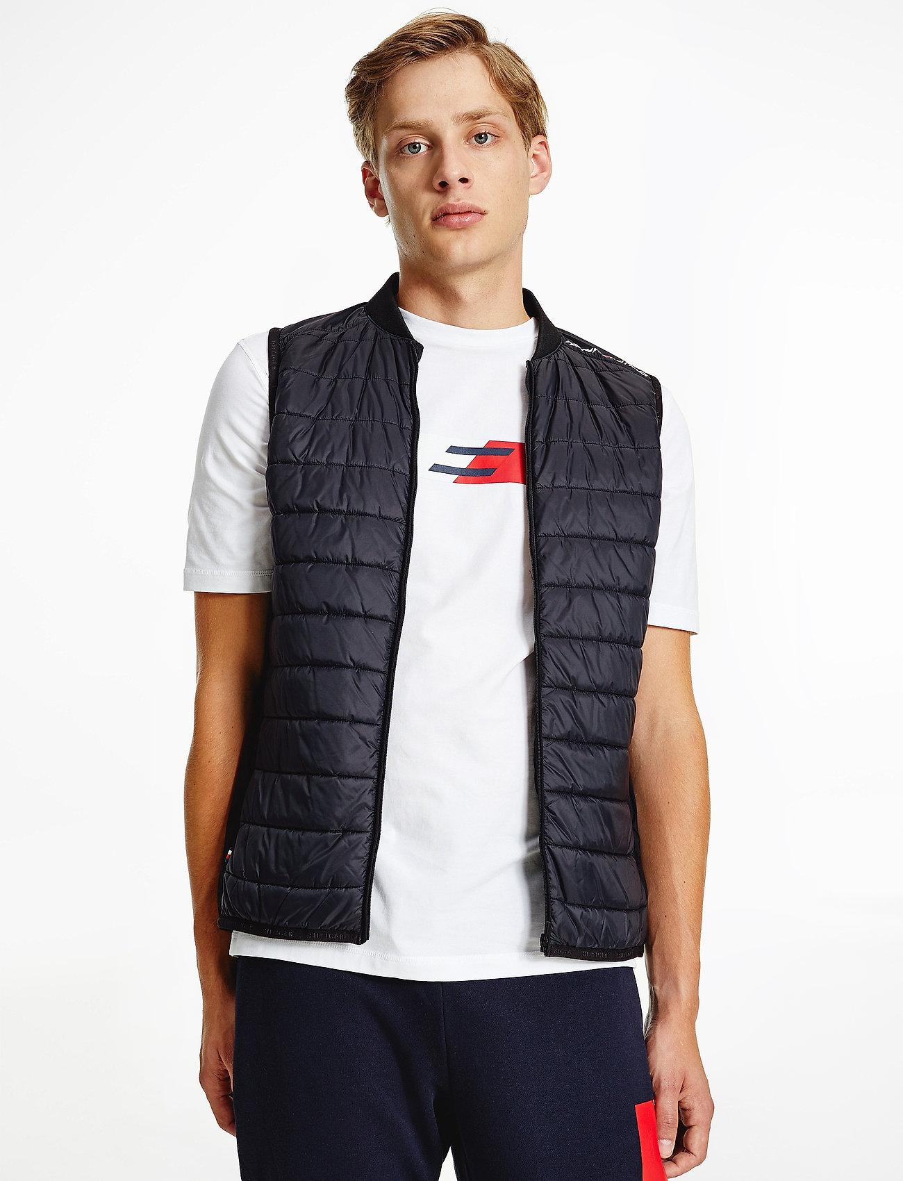 Tommy Sport - VEST - training jackets - black - 0