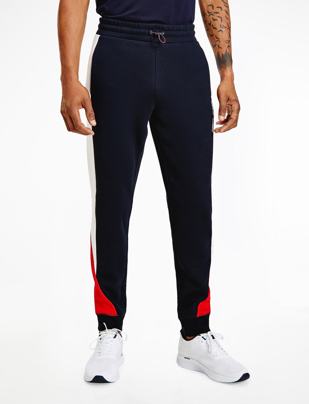 Tommy Sport - BLOCKED SEASONAL PANT - sweatpants - desert sky - 0