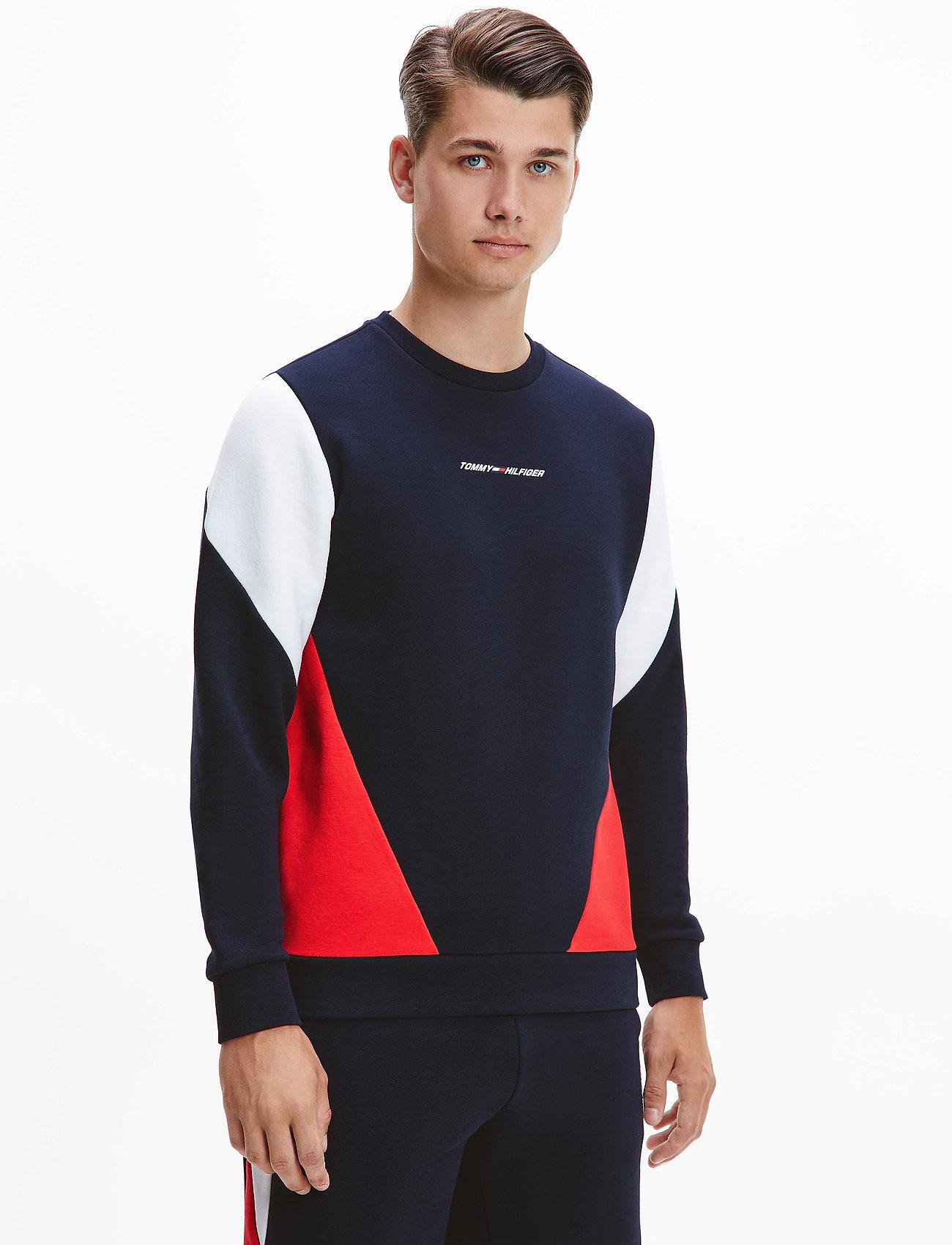 Tommy Sport - BLOCKED SEASONAL CREW - clothing - desert sky - 0