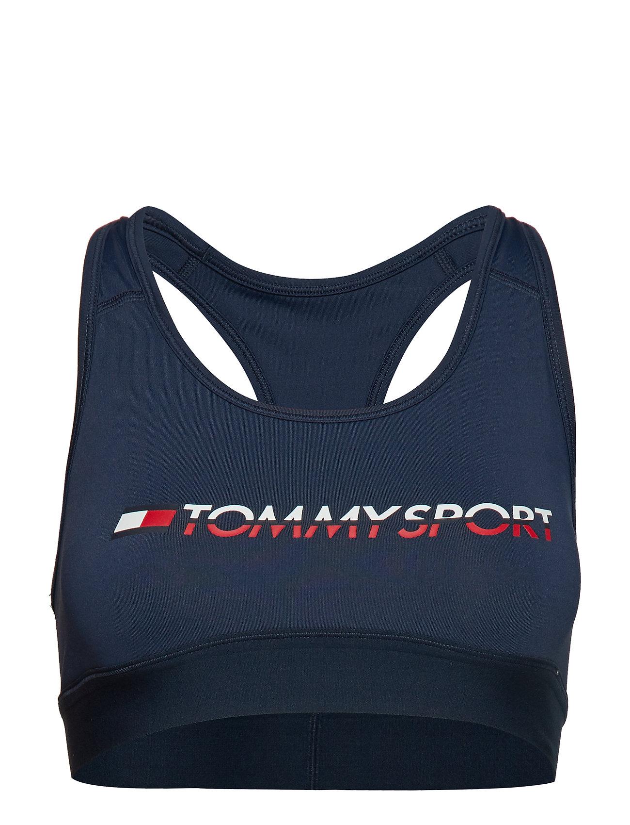 NavyTommy Logosport Tri Sport Sports Bra Medium rCxoeWEBQd