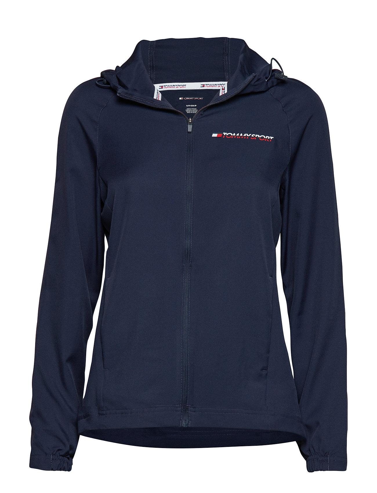 Image of Woven Jacket Sweatshirts & Hoodies Light/Summer Jacket Blå TOMMY SPORT (3144751585)