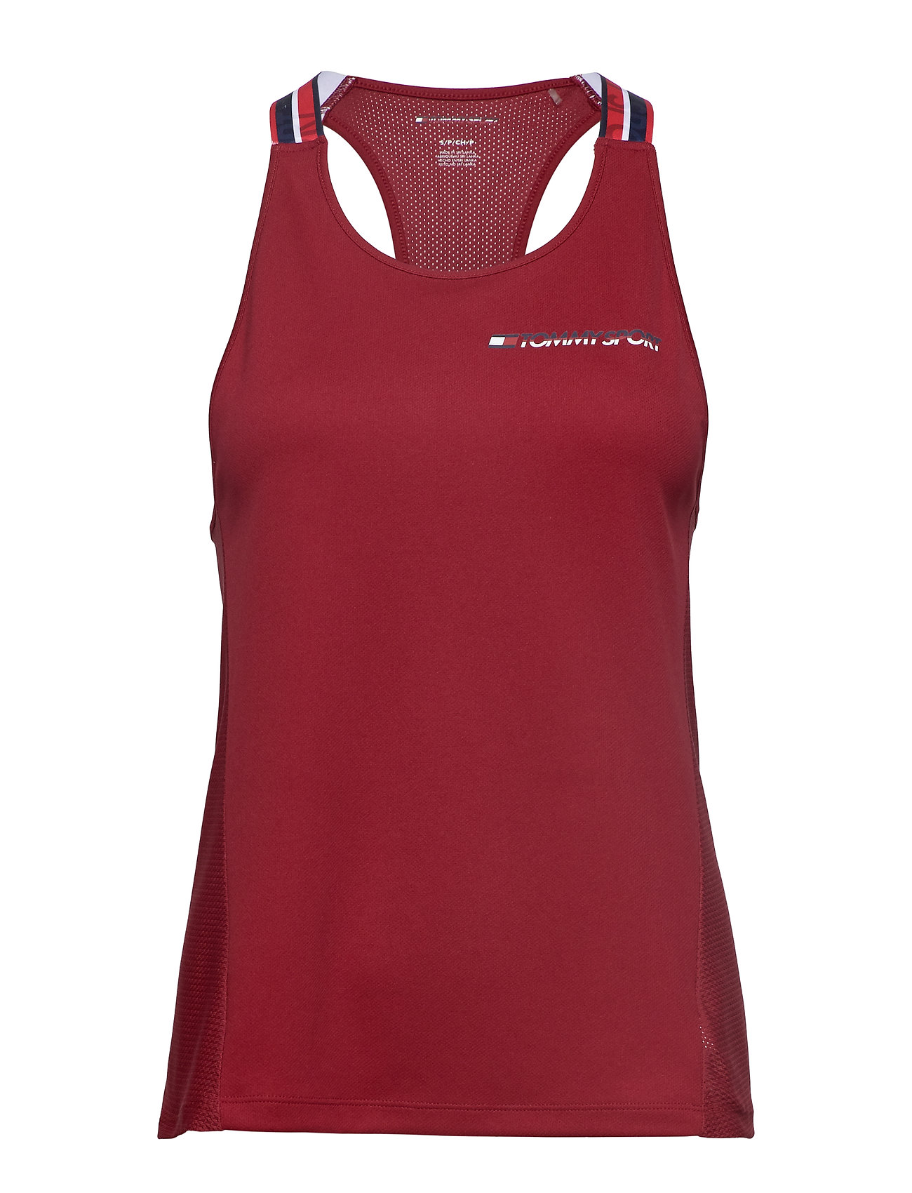 Tommy Sport CLASSIC MESH TANK TO - BIKING RED