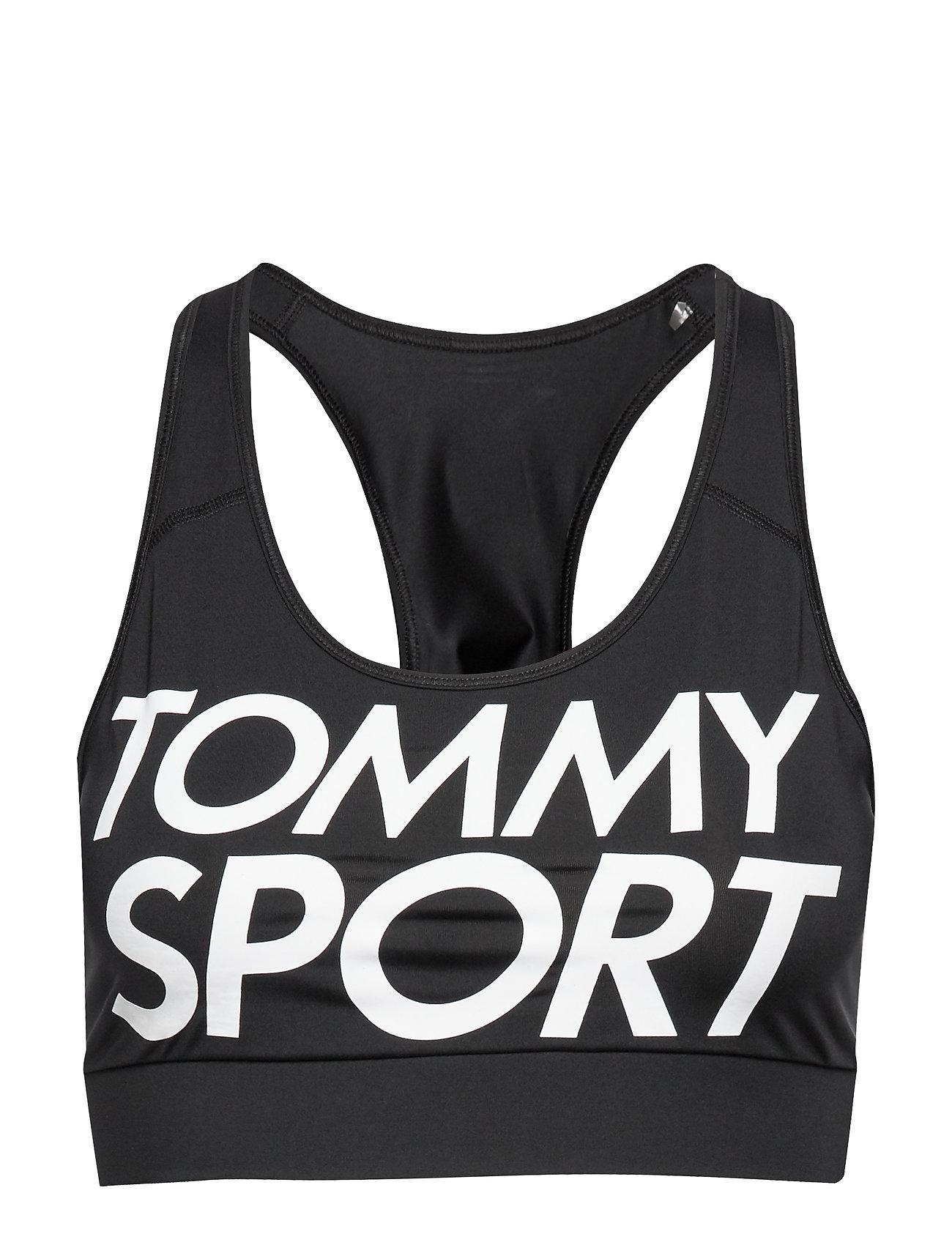 Image of Sports Bra Logo Mid Lingerie Bras & Tops Sports Bras - ALL Sort Tommy Sport (3279932239)