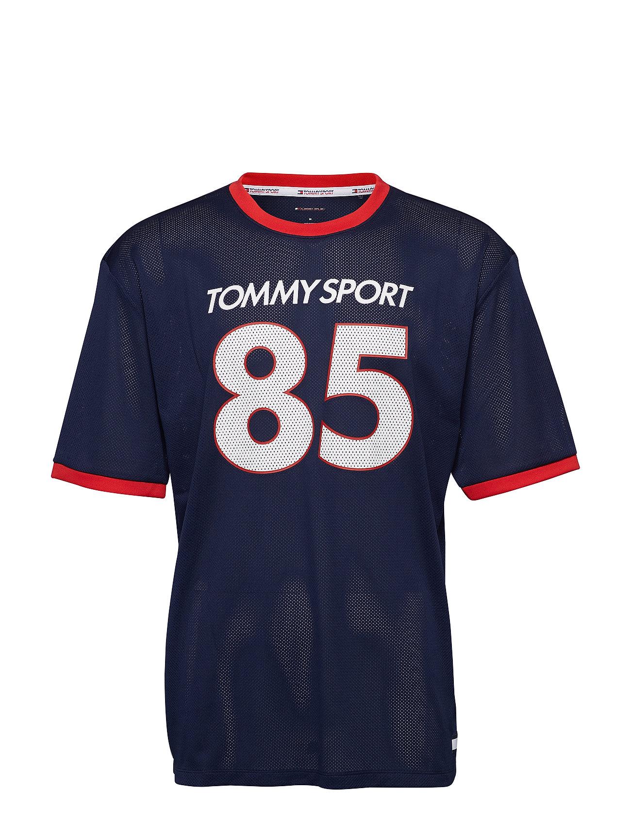 Tommy Sport T-Shirt Oversized '8 - SPORT NAVY