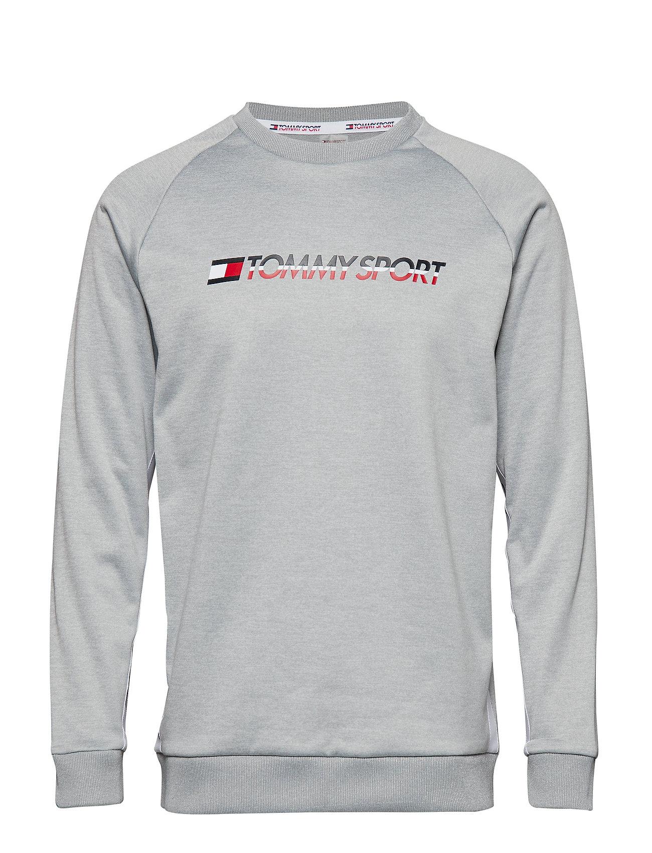 Logogrey HeatherTommy Sweat Crew Knit Sport Lc34jq5AR