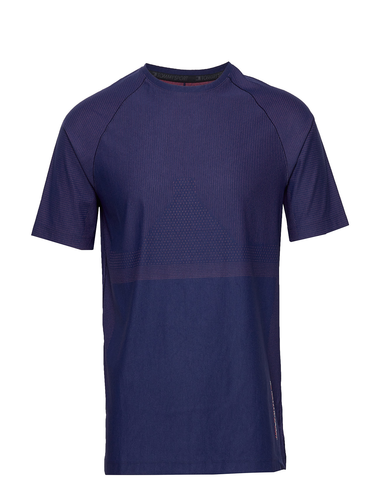 Tommy Sport WARPKNIT T-SHIRT - BLUE INK