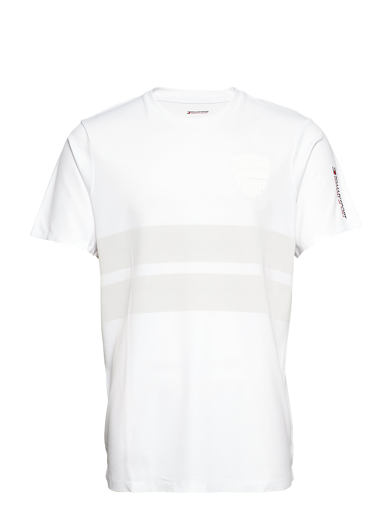 Tommy Sport CREST TEE - PVH WHITE