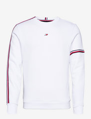 Tommy Sport - TAPE SEASONAL CREW - clothing - white - 0