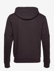 Tommy Sport - LOGO FLEECE HOODY - hoodies - black - 2