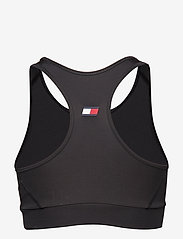 Tommy Sport - SPORTS BRA LOGO MEDIUM - sport bras: medium - pvh black - 1