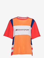 Tommy Sport - MESH TEE LOGO - t-shirts - surf the web - 0