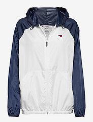 Tommy Sport - BLOCKED WINDBREAKER - sports jackets - pvh white - 0