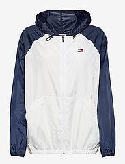 Tommy Sport - BLOCKED WINDBREAKER - sports jackets - pvh white - 1