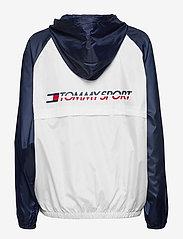 Tommy Sport - BLOCKED WINDBREAKER - sports jackets - pvh white - 2