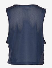 Tommy Sport - CROPPED TANK TOP LOG - crop tops - sport navy - 1