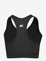 Tommy Sport - SPORTS BRA LOGO MID - sport bras: low - pvh black - 1
