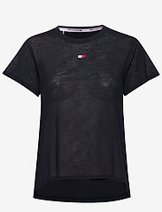 Tommy Sport - PERFORMANCE LBR TOP - t-shirts - desert sky - 0