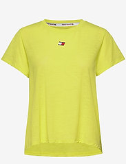 Tommy Sport - PERFORMANCE LBR TOP - t-shirts - lemon lime - 0