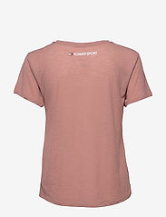 Tommy Sport - PERFORMANCE LBR TOP - t-shirts - red dust - 1