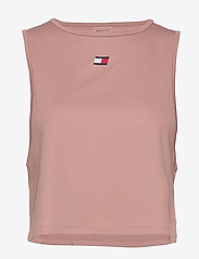 Tommy Sport - PERFORMANCE TANK TOP LBR - tank tops - red dust - 0