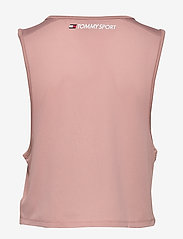 Tommy Sport - PERFORMANCE TANK TOP LBR - tank tops - red dust - 1