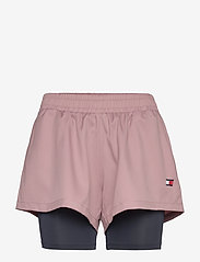 "Tommy Sport - 3"" 2-IN 1 WOVEN SHORT LBR - spodenki treningowe - red dust - 0"