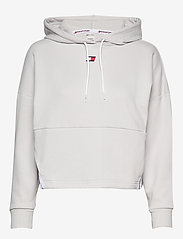 Tommy Sport - CROPPED TAPE FLEECE - crop tops - light cast - 0
