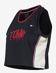 Tommy Sport - CROP TOMMY TANK TOP - crop tops - desert sky - 2