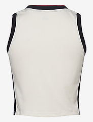 Tommy Sport - CROP TOMMY TANK TOP - crop tops - ivory - 1