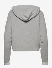 Tommy Sport - RELAXED SOFT MODAL HOODIE LS - hoodies - light grey heather - 1