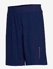 Tommy Sport - WARPKNIT SHORT - training shorts - blue ink - 2
